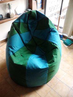 Puff tipo Pera/ Beanbag chair 5.5 kg