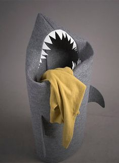 Shark Laundry Basket | need this in my room | hardcore felt town