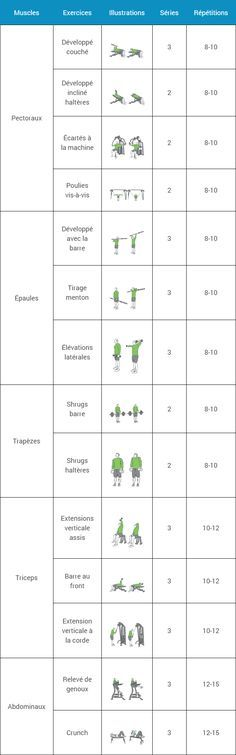 Just222 l 39 info rapide pour lire vite et bien des for Programme de musculation