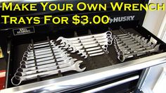 Make Your Own Wrench Trays for $3.00