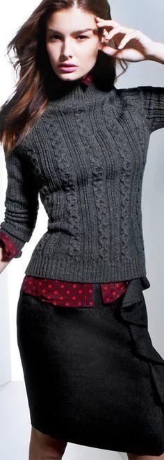 Moldiva Shirt, Pampas Sweater