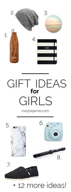 Gift ideas for those basic girls in your life. Twenty present ideas that will be loved by your girlfriend, best friend, daughter - whoever is your coffee loving ,scarf wearing gal pal!