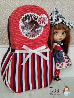 Case matrioska navy by Iaiá Cases for Dolls on Facebook