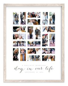 Modern, Black Custom Photo Art From Minted By Independent Artist Michelle Taylor Called A Day In Our Life With Printing On In Midnight GCP. Custom Art, Custom Photo, Bottle Label, Wall Art Prints, Fine Art Prints, Nursery Wall Murals, Family Poster, Web Design, Teen Art