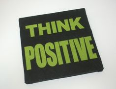 #makehandbuy - pannello decorativo in cartapesta da cm. 30x30 - THINK POSITIVE  Fukumaneki.it - Cartapesta, pannelli, oggetti, complementi, arredo, bomboniere, animali, simboli, design, arredamento - made in italy www.facebook.com/...