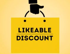 "Check out new work on my @Behance portfolio: ""LIKEABLE DISCOUNT"" http://be.net/gallery/37402115/LIKEABLE-DISCOUNT"