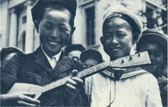 Korean pioneers in the Soviet Union. Korean Image, Central Asia, Soviet Union, 1930s, Asian, History, Vintage, Historia, Vintage Comics
