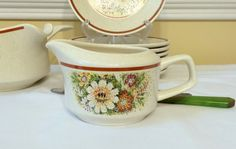 Vintage Creamer Lenox China TemperWare Magic by DejaVuVintiques, $11.00