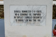 Mormântul bunicii Sfântului Ioan Iacob / foto: Oana Nechifor Letter Board, Lettering, Lord, Drawing Letters, Letters, Character, Texting, Calligraphy