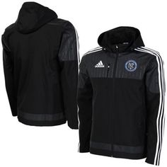 adidas New York City FC Coaches Sideline Jacket – Black  This is literally the No. 1 thing I need in the world. Thank you.