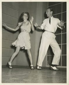 Rita Hayworth & Fred Astaire on the set of You Were Never Lovelier (1941) (photo by John Florea)