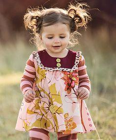 Pink Sara Top - Infant, Toddler & Girls #zulily *adorable