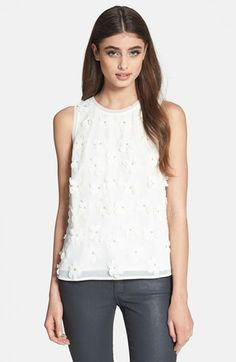 floral applique tank / search for sanity @Nordstrom