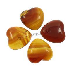 Yellow Agate Cabochon, Heart Semi Precious Beads, Lampwork Beads, Wholesale Jewelry, Gemstone Beads, Agate, Beaded Jewelry, Glass Beads, Gemstones, Pearls