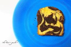 チョコ&オレンジのマーブルパウンドケーキ
