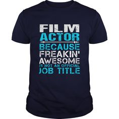 FILM-ACTOR - ***How to ? 1. Select color 2. Click the ADD TO CART button 3. Select your Preferred Size Quantity and Color 4. CHECKOUT! If You dont like this shirt you can use the SEARCH BOX and find the Custom Shirt with your Name!! (Actor Tshirts)