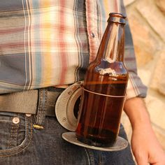 {The Beer Buckle Antique Silver} BevBuckle - ohmygosh, how hilarious and yet practical is this?! great gift idea for someone who has everything :P