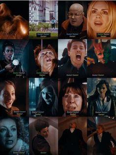 12, Bill, Nardole, Rose, Martha, Donna, Jack, Madame Vastra, Jenny, Amy, Sarah Jane Smith, Clara, River, Missy, The Doctor Falls 10.12