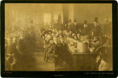vintagephoto: Workhouse or childrens' home, c.1880's