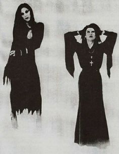 squelettedelicieux: Rozz Williams & Eva O (Shadow Project) Beautiful Goth