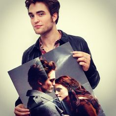 Rob promoting New Moon, 2009