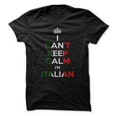 I AM ITALIAN. Funny shirt 19$. Check this shirt now: http://www.sunfrogshirts.com/I-AM-ITALIAN.html?53507