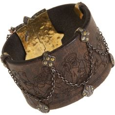 Sevan Bicakci Diamond Leather Bracelet with Dagger Closure (1.828.060 RUB) ❤ liked on Polyvore featuring jewelry, bracelets, accessories, jewels, cuffs, women, cuff jewelry, 24k jewelry, yellow jewelry and bangle cuff bracelet