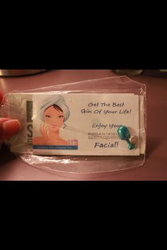 Cute idea for party favors!!! #RodanAndFields