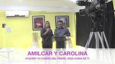 """En la ciudad de Managua, NIcaragua, en el auditorio de ENLACE en el programa de oracion """"Nicaragua ORA"""""""