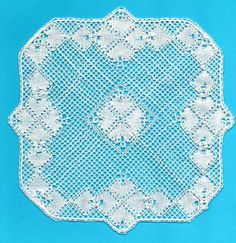 Torchon Bobbin Lace Pattern - With