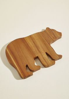 Trees and Crackers Serving Board in Bear