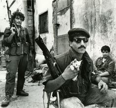 Historical Times : Palestinian Freedom Fighters in West Beirut, July 1988