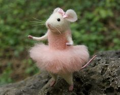 Felt mouse felt animal needle felt cute mouse by TenderMouse