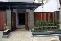 desain pagar rumah minimalis - Penelusuran Google