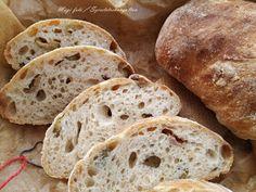 szeretetrehangoltan: Kovászos olajbogyós gyökérkenyér Bread, Food, Brot, Essen, Baking, Meals, Breads, Buns, Yemek