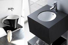 Muebles_vintage_reciclado_lavabo_baño_las_tres_sillas_16 Sink, Mirror, Bathroom, Furniture, Home Decor, Minimalist Bathroom, Minimalism, Bathroom Furniture, Painted Furniture