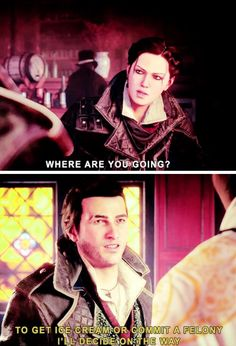 Assassins Creed Syndicate Jacob and Evie Frye humor
