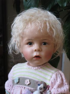Art Doll by Sissel Skille, Norway