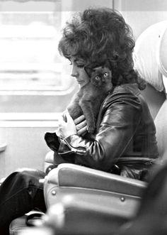 Elizabeth Taylor, Paris, 1971. Photo by Daniel Angli.