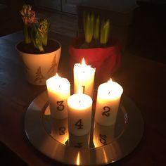 Neljäs adventti - kynttilät Clas Ohlson