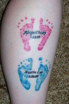 Tatuajes dedicados a los hijos: fotos ideas (Foto 23/24) | Ella Hoy