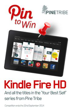 Pine Tribe is giving you the chance to win a Kindle Fire HD stocked with the entire Pine Tribe Library! Found out how to enter the competition here! Inspirational Books, Best Self, Kindle, Competition, Prize Draw, Fire, Gw, Free Stuff, Periwinkle