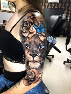 Forarm Tattoos, Girl Arm Tattoos, Bff Tattoos, Couple Tattoos, Body Art Tattoos, Lion Arm Tattoo, Tatoos, Dope Tattoos For Women, Black Girls With Tattoos