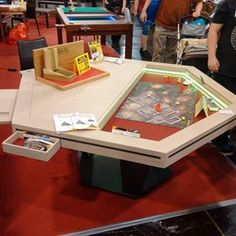 Ultimate Guide To Great DIY Gaming Tables Random Stuff Pinterest - Cheap board game table