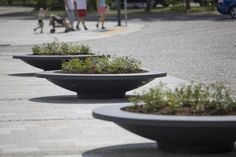 how to decor city with large urban flower pots terraform? Tips: