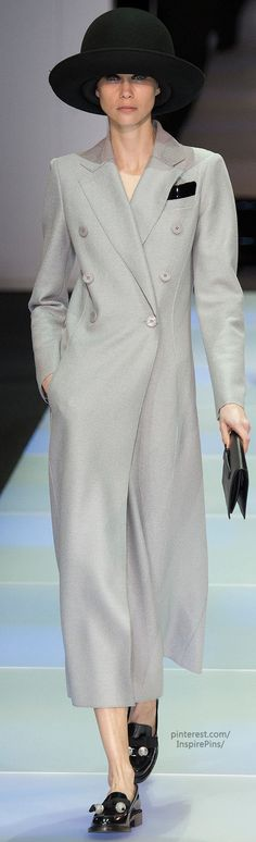 Love this. Wow.  Now if I only weighed 88 pounds... Fall 2014 Ready-to-Wear Emporio Armani