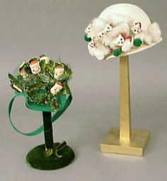 Bes-Ben Knitting Cats and Santa Hats - Couture and Textiles | Doyle Auction House