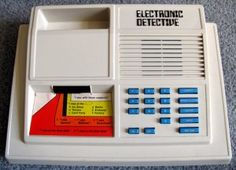 1979 Electronic Detective by Ideal Toy Company #vintage #videogame #nostalgia $74.95 shipped.