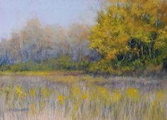 """The Fields by Kathy McDonnell Pastel ~ 9"""" x 12"""""""