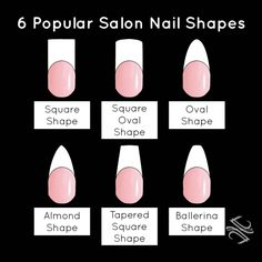 Type Of Acrylic Nail Shapes 2017